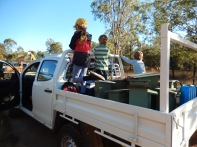 Installing Wildlife boxes Cushnie LC