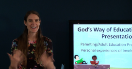 20170108 Eloisa God's Way of Education Presentation