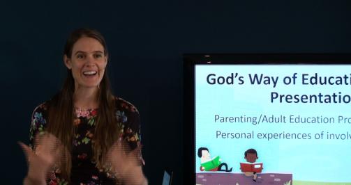 20170108 Eloisa God's Way of Education Presentation