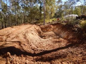 Large hole