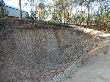 Large hole lighter soil
