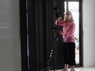 Filming fellow participants