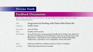 Divine Truth Video Front Plate