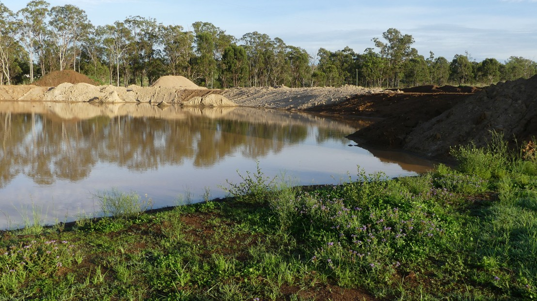 Caretaker's Residence dam, 4 March 2020