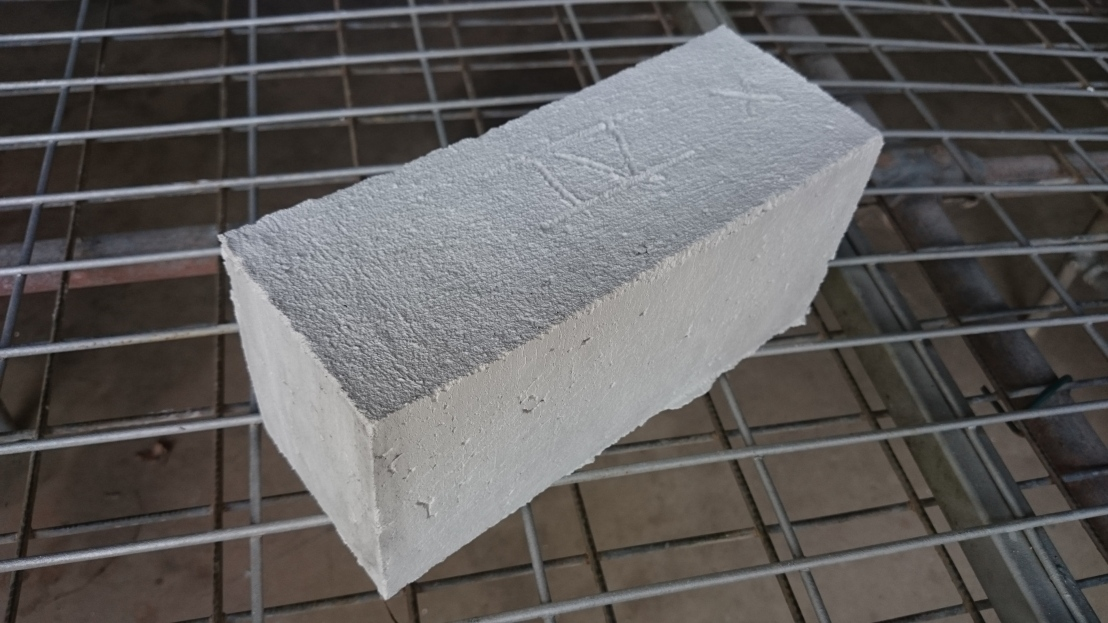 Test 4 Brick on Drying Rack