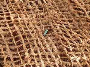 Coconut fibre (coir) matting