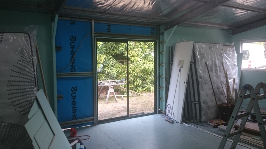 Construction of new door