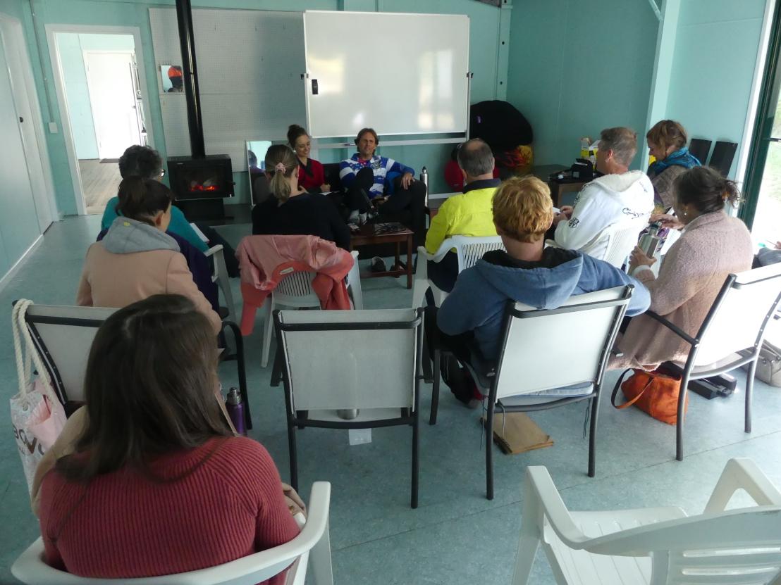 God's Way Volunteers at a team development meeting
