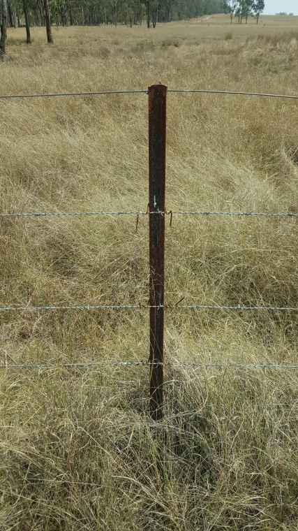 star pickets, barb wire & smooth fencing wire