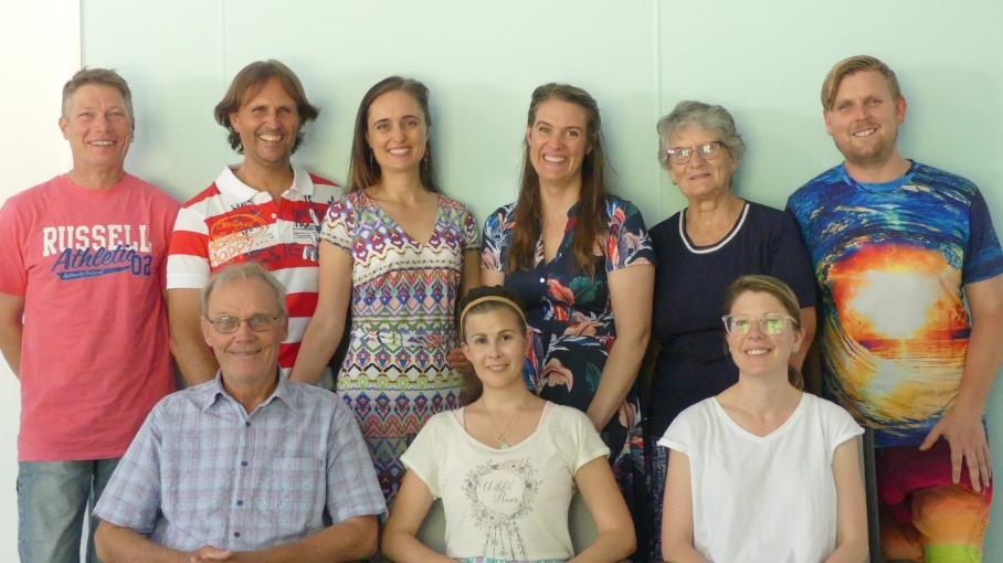 Directors, Members & Volunteers at the AGM meal
