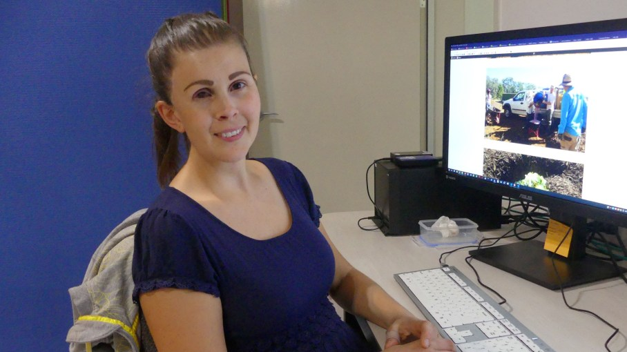 Kate prepares an article for posting on the God's Way Ltd blog