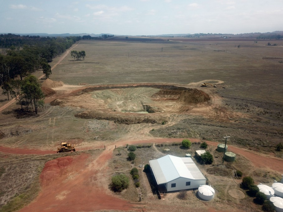 Farmed land now owned by God's Way Ltd