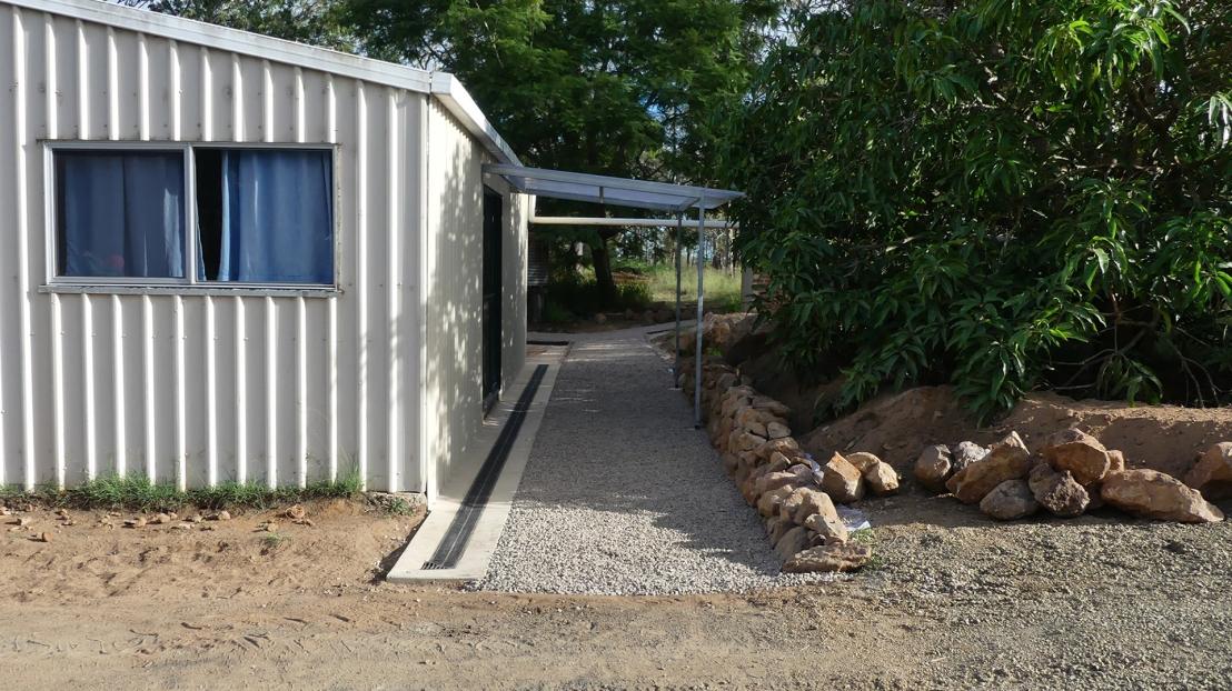 Hostel pathway progress, April 2020.
