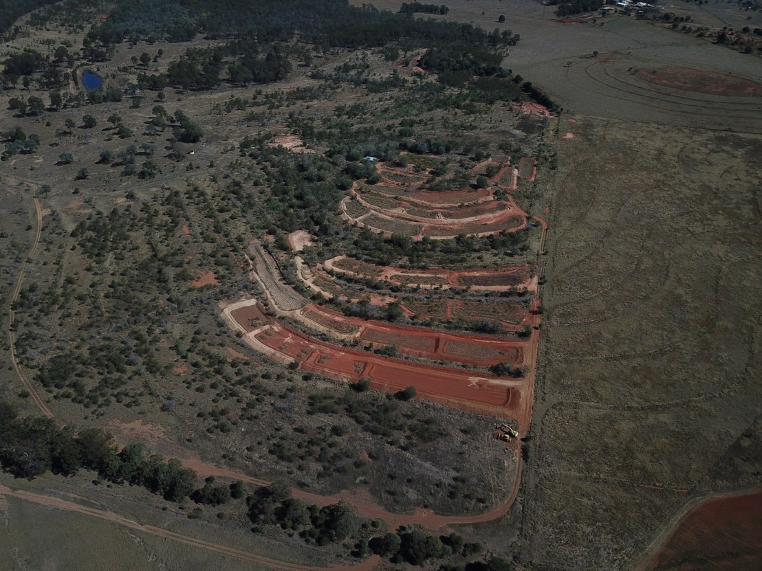 Terrace Aerial View, August 2020.